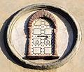 Museo archeologico nazionale, ingresso, stemma rate della seta.JPG