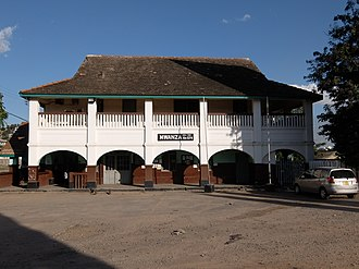 Mwanza - Mwanza train station