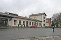 Nádraží Jaroměř - výpravní budova 01.JPG
