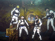 NASA NEEMO 20 Aquanaut Crew