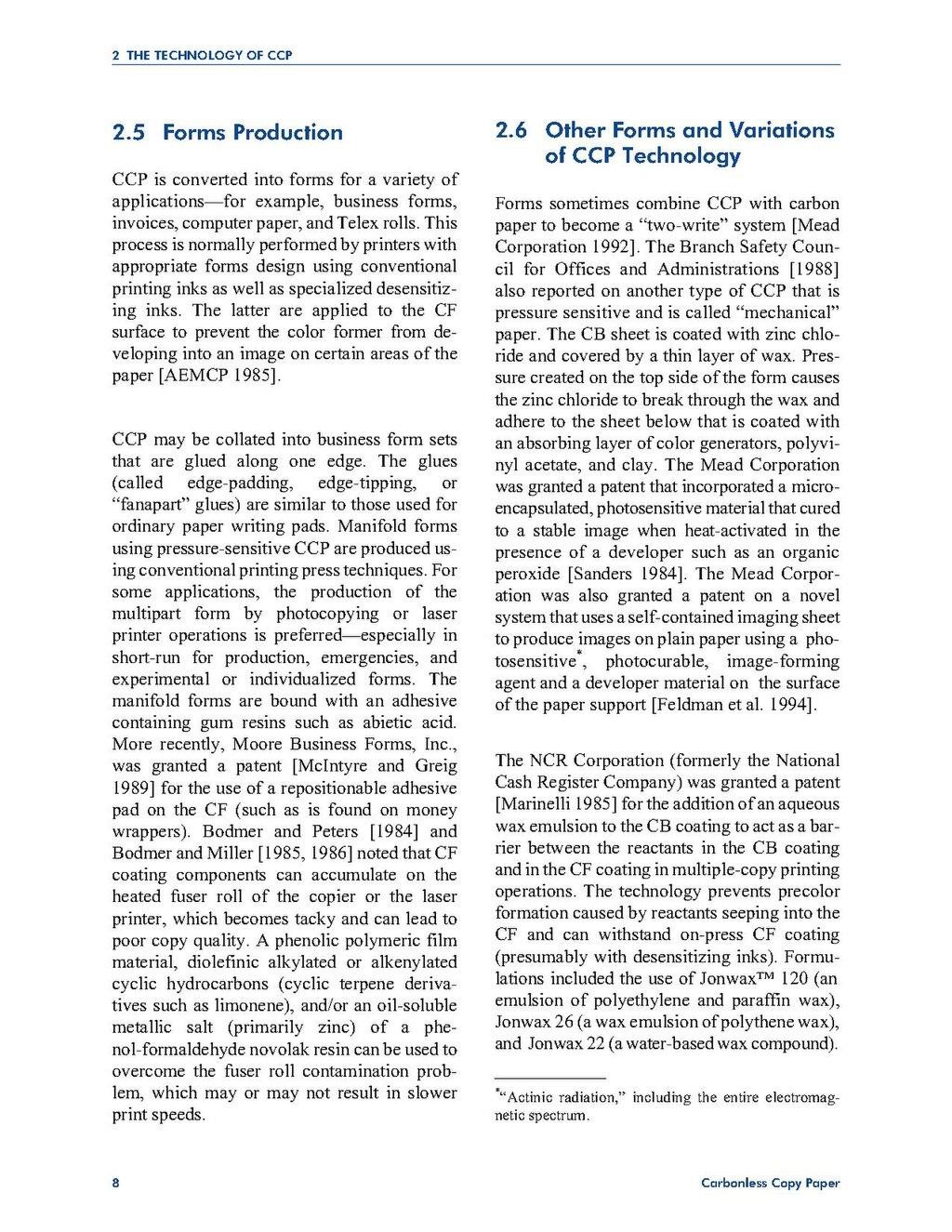 page niosh hazard review of carbonless copy paper pdf 29