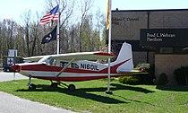 NJAHOF Lockheed L-402 Teterboro 02.JPG