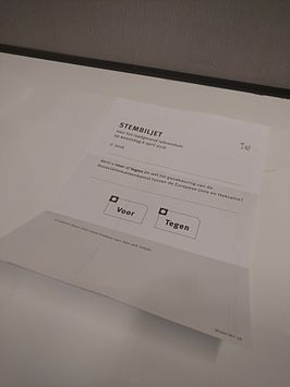 Nederlands Referendum Over De Associatieovereenkomst Tussen De