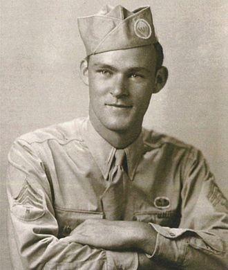 Joseph Beyrle - Sgt. Beyrle in Ramsbury, 1943