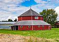 NRHP 86001448 Octagon Barn - Otter Township - Warren County - Iowa - 10-2-2016-4788.jpg