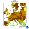 NWS-NOAA Europe Total precipitation JAN 15 - 21, 2017.png