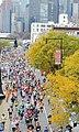 NYC 2113 Marathon thunder nearing Court Square IRT jeh.jpg