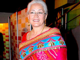 Nafisa Ali - Nafisa Ali at the premiere of the film Lahore