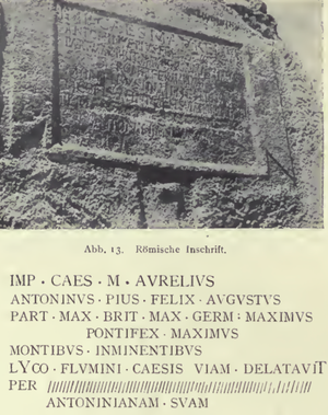 Legio III Gallica - Inscription of Legio III Gallica at the Nahr al Kalb inscriptions
