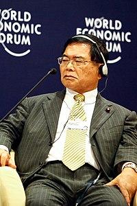 Naokazu Takemoto - World Economic Forum on East Asia 2011.jpg