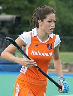 Naomi van As Dutch field hockey player