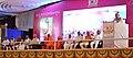 Narendra Modi addressing at birthday centenary celebrations of HH Jagadguru Dr. Sri Shivarathri Rajendra Mahaswamiji of Sri Suttur Math, in Mysuru, Karnataka. The Governor of Karnataka, Shri Vajubhai Rudabhai Vala (1).jpg