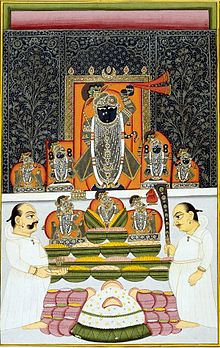 Famous God Shrinathji Vallabh Darshan Wallpapers for free download