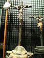 National Museum of Ethnology, Osaka - Crucifix - Portugal - Collected in 1987.jpg