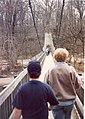 Nature Area - David & Kathy crossing the suspension bridge.jpg