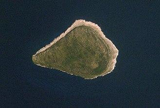 Navassa Island - A satellite image of Navassa Island.