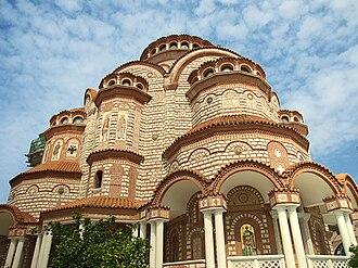 Nea Moudania - The church of Nea Moudania.