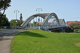 Ilvesheim - Neckar Bridge to Mannheim-Seckenheim