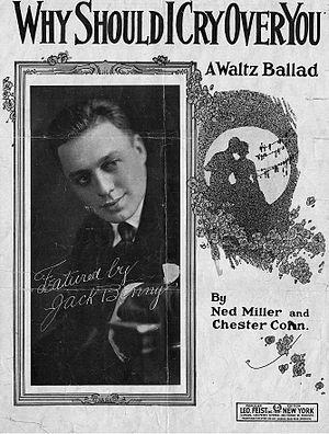 Ned Miller (composer) - Ned Miller Sheet Music Featuring Jack Benny