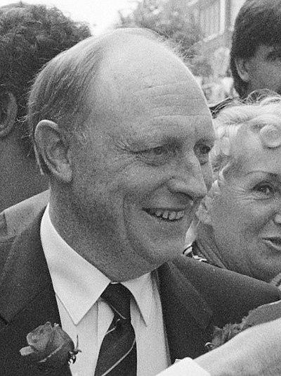 Neil Kinnock, British politician