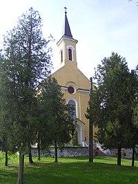 Nepomuki Szent János római katolikus templom, Bárban.jpg