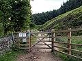 New Bridleway gate to Cut Gate - geograph.org.uk - 852080.jpg