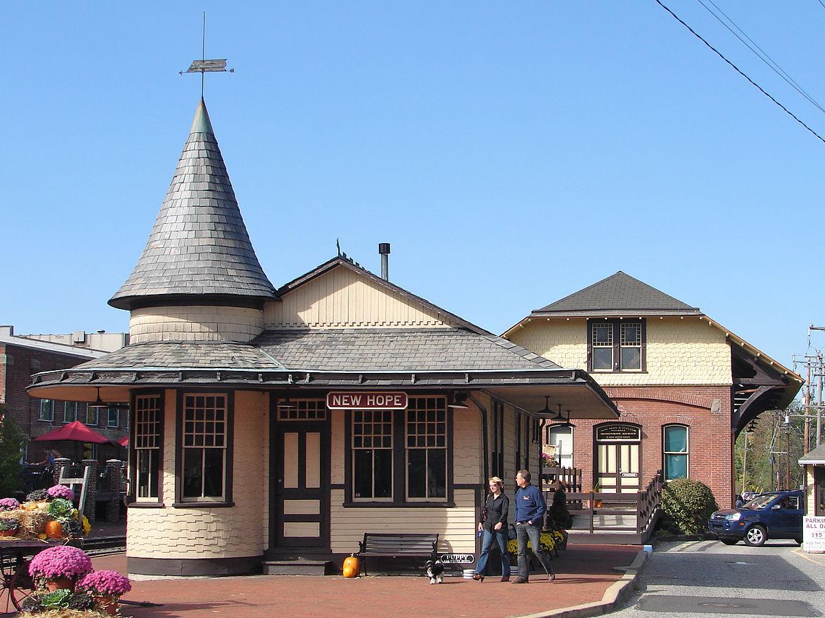 New Hope Station Pennsylvania Wikipedia