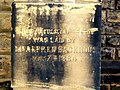 New Jerusalem Chapel, Foundation Stone 1884 - geograph.org.uk - 99166.jpg
