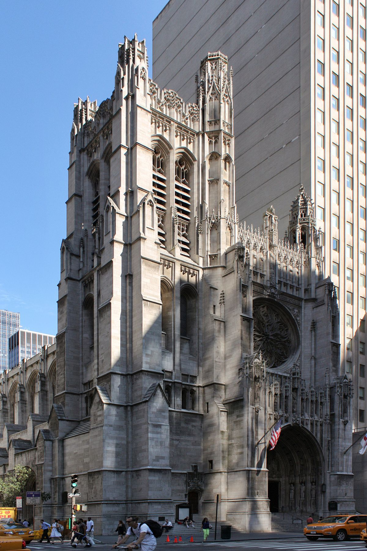 saint thomas church manhattan wikipedia