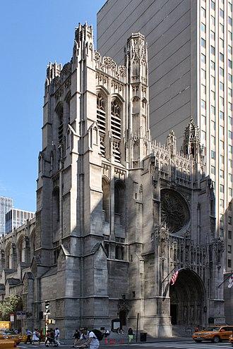 Saint Thomas Church (Manhattan) - Image: New York Manhattan Saint Thomas Church