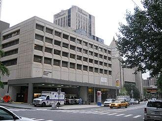 Lower Manhattan Hospital - Image: New York Downtown Hospital