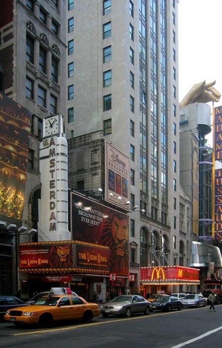 New York New Amsterdam Theatre 2003