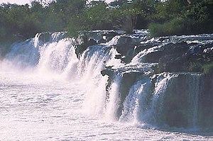 Ngonye Falls - Ngonye Falls, western Zambia