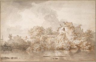 River Landscape near Montfoort