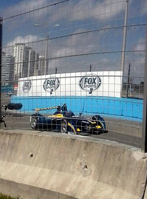 Nico Prost - Prost racing in the 2014 Punta del Este ePrix