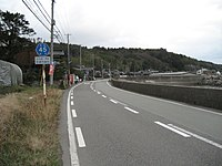 Niigatakendo no45 sado city.JPG