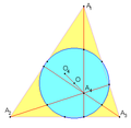 Nine point circle for orthocentric system.PNG