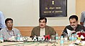 "Nitin Gadkari addressing at the release of the IT Task Force Report ""Next Generation Port Infrastructure -Technology Transformation for Integrated Port Operations"", in New Delhi.jpg"