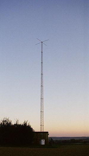 Non-directional beacon - Radio Tower of NKR Leimen-Ochsenbach, Germany