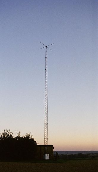 Non-directional beacon - Radio Tower of NKR Leimen-Ochsenbach, Germany