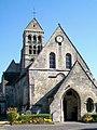 Nogent-sur-Oise (60), église Sainte-Maure-et-Sainte-Brigide, façade ouest, place de l'Église (2).jpg