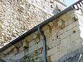 Nointel (60), église Saint-Vaast, croisillon sud, corniche.JPG