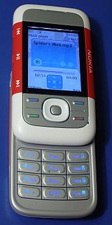 Nokia 5300 cell phone model
