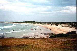 Deutsch: Norah Head, NSW