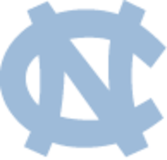 1971–72 North Carolina Tar Heels men's basketball team - Image: North Carolina Tar Heels interlocking blue logo