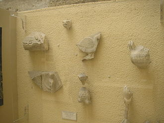 Fenari Isa Mosque - Byzantine remains from the North Church (kept in the Istanbul Archaeological Museums).