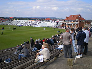 North Marine Road Ground, Scarborough - Image: North Marine Road 2