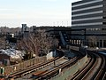 North Quincy station from Hancock Street, January 2016.JPG