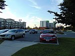 North across Park & Ride lot at West Valley Central, Aug 16.jpg
