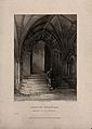 Norwich Cathedral, Norwich, Norfolk; cloisters entrance. Lin Wellcome V0014043ER.jpg